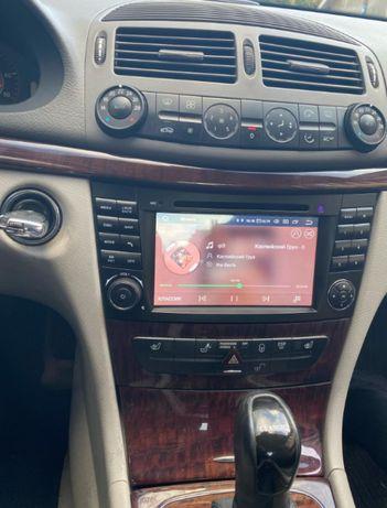 Radio Mercedes W211 CLS ANDROID 10 / 4GB PX5 2DIN DVD Nawigacja PL 24