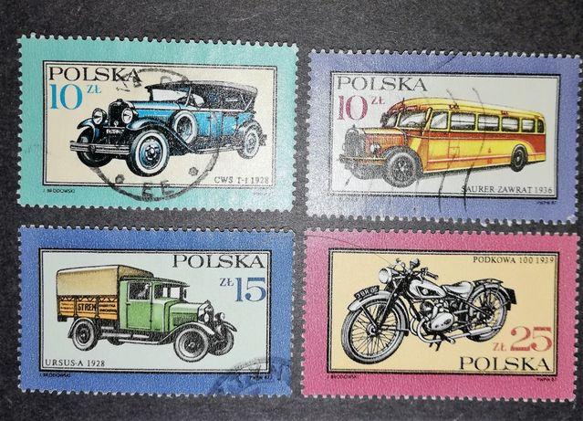 Polska Stare Samochody znaczek / znaczki