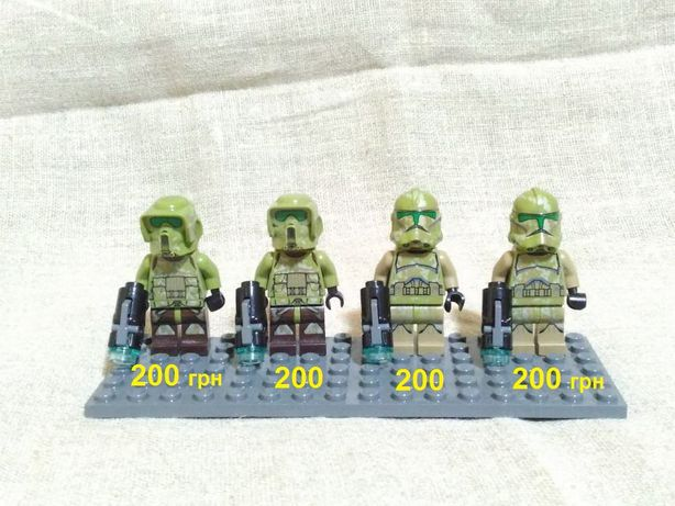 LEGO Star Wars, ОРИГИНАЛ! минифигурки из набора 75035 Kashyyk Troopers