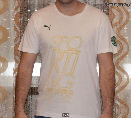 T-shirt Sporting Oficial
