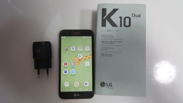 Smartfon LG K10 Czarny