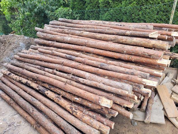 Stemple budowlane podpory drewniane 200szt.