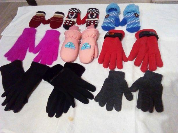 Продам детские и женские рукавички