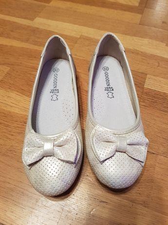 baleriny buty roz. 32 nowe skórzana wkładka skóra