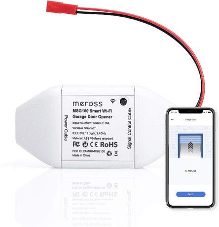 Meross MSG100 Smart Wifi откритие ворот умное