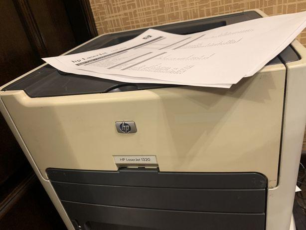 Скидка только 3 дня! Лазерный принтер hp 1320 с дуплексом