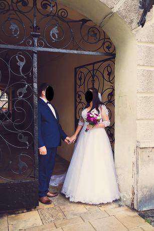 Suknia Ślubna roz 42