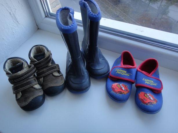 Обувь для мальчика, 22-24 размер. Цена за все.
