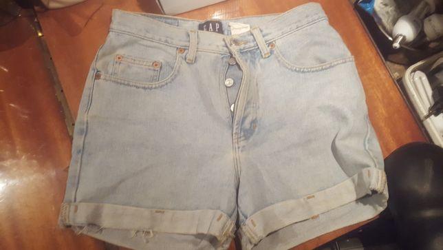 spodenki jeansowe GAP r.S