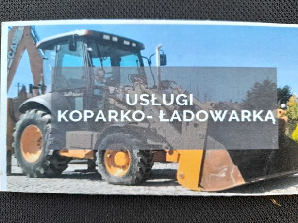 Usługi Koparko-Ładowarką