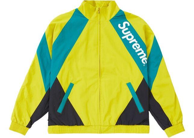 Supreme Light Gold Track Jacket / L