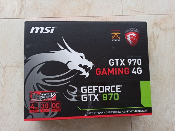 Karta graficzna MSI GeForce GTX 970 GAMING 4GB DDR5 (256 bit)