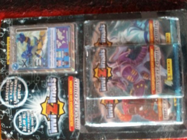 Multipack Invizimals 5 saszetek+1 karta limitowana edycja
