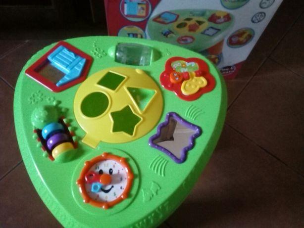 Mesa de atividades Musical baby ótimo estado!