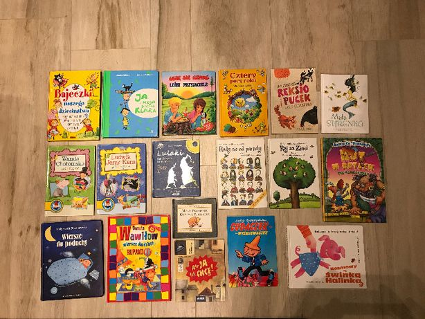 18 książek dla dzieci TANIO!