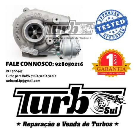 Turbo BMW 318D, 320D, 520D ref. 700447