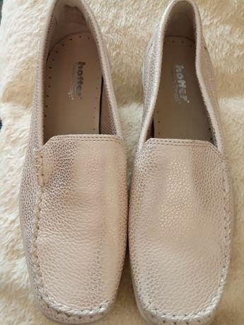 Piękne buty, mokasyny 38 ZŁOTE NOWE złote
