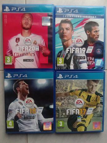 Vendo FIFA20,19,18,17 para PS4