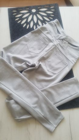 Spodnie XS wysoki stan