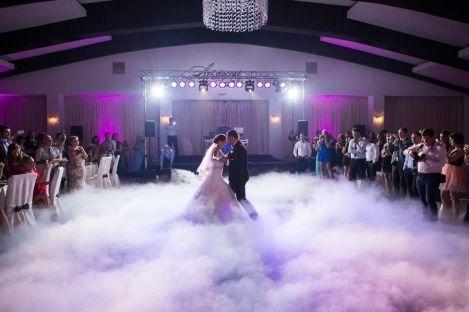 Najtaniej Ciężki dym na wesele, 1taniec w chmurach, dekoracje światłem