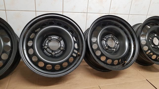 "Felgi stalowe 15"" GM Opel 5x110 ET35 6,5Jx15H2 oryginalne"