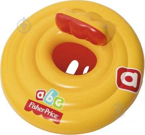 Надувной круг для плавания Bestway 69 см «Fisher Price»