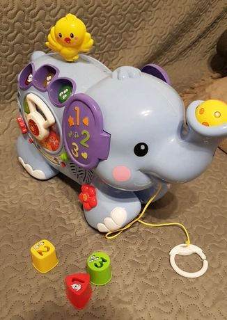 Super Słoń Vtech zabawka Edukacyjna interaktywna