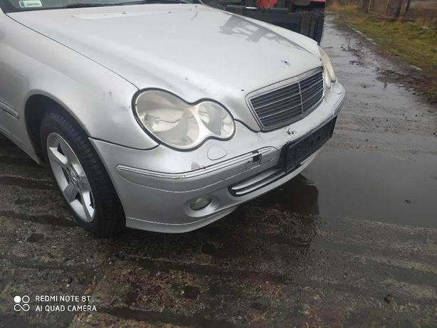 Mercedes W 203 kombi lampy przód