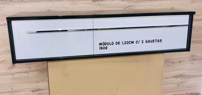 Móvel de Casa de Banho 1,20cm com 2 gavetas