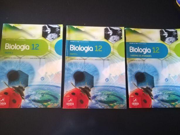 Manual escolar 12º ano de Biologia + caderno de atividades
