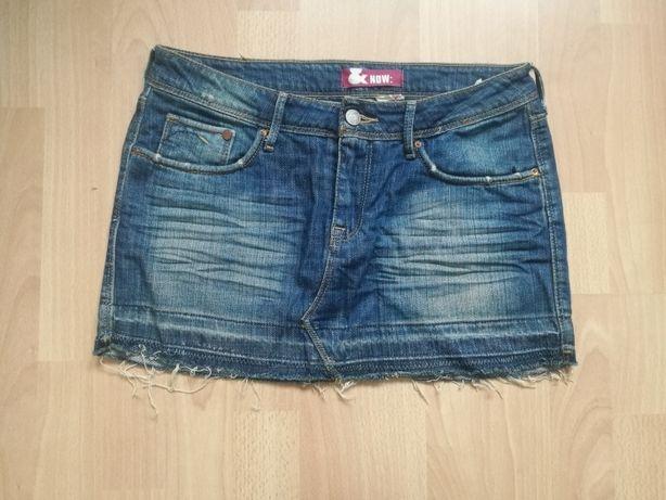 Spódniczka jeansowa r s