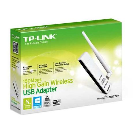Adaptador de Rede USB Wireless TP-Link 150Mbps – TL-WN722N