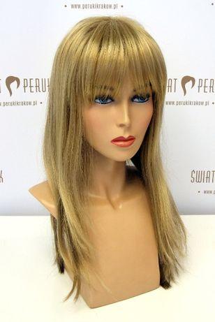 Peruka długa z włosa syntetycznego Włoszczowa
