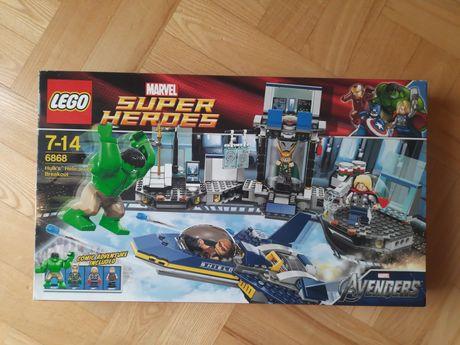 Lego 6868 Hulk's Helicarrier Breakout