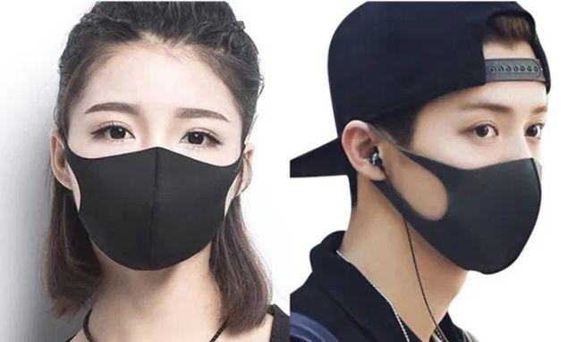 Черная маска - от грязи и загрязнения РМ2.5 pitta питта защитная