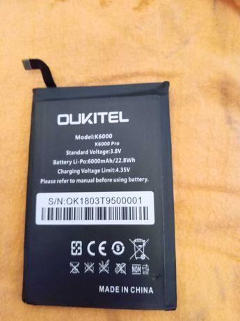 Bateria  6000 Ah OUKITEL k6000 Pro