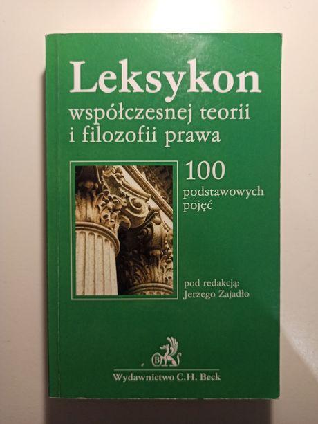 Leksykon współczesnej teorii i filozofii prawa