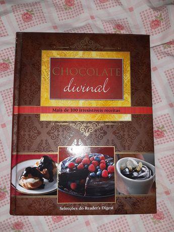 Livro Receitas Chocolate Divinal
