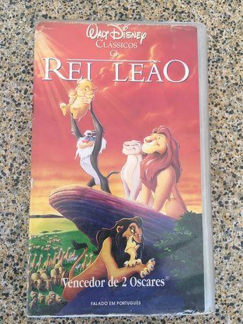 Cassete VHS O Rei Leão