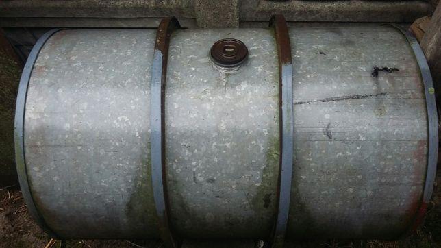 Beczka stalowa 200L z obręczami, beczka 60L