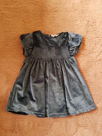 Sukienka niemowlęcą r.74