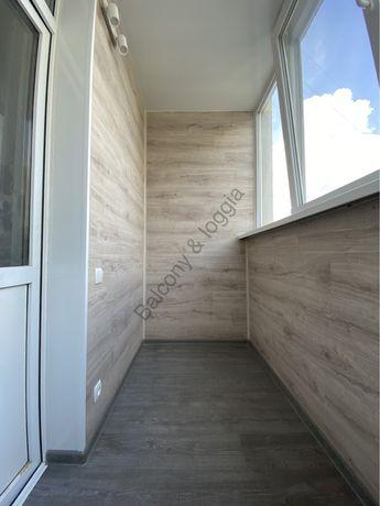 Балкон под ключ Остекление Обшивка изнутри и снаружи Шкафы Ремонт
