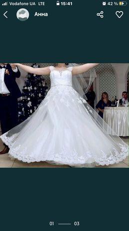Продам свалебное платье