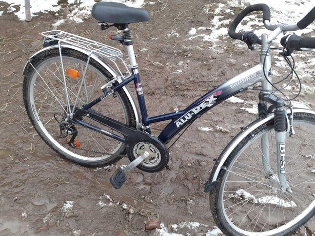 Rower  alu rex Niemieckiej firmy rama aluminiowa 28 kola