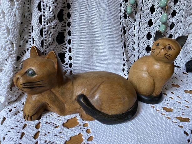 kot kotek drewno stara rzeźba cepelia handmade