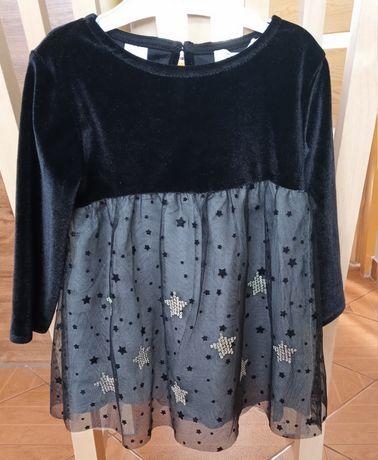 Sukienka dla dziewczynki ZARA Baby rozmiar 80 9-12 miesięcy