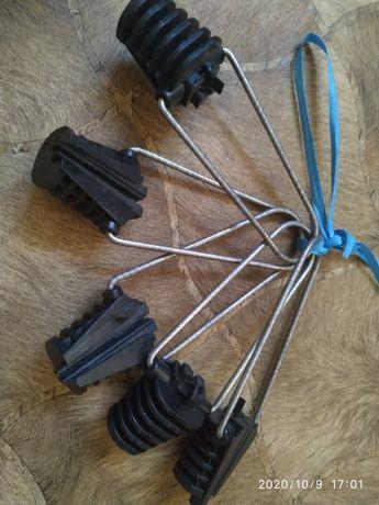 Натяжитель для витой пары или оптиковолоконного кабеля. Самозажимные с