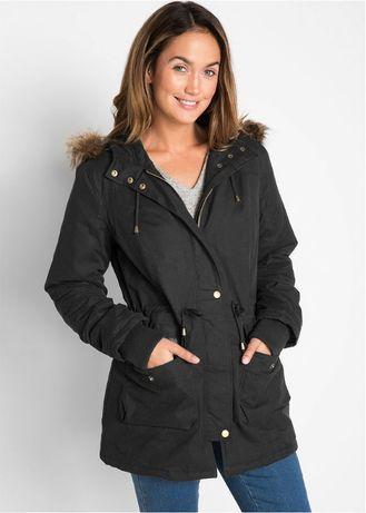 ciepła kurtka na kożuszku 44