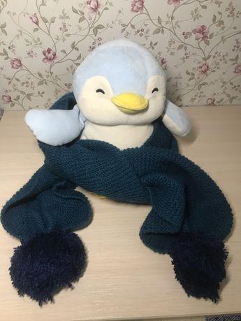 Зимный шарф