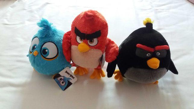 Peluches novos Angry Birds